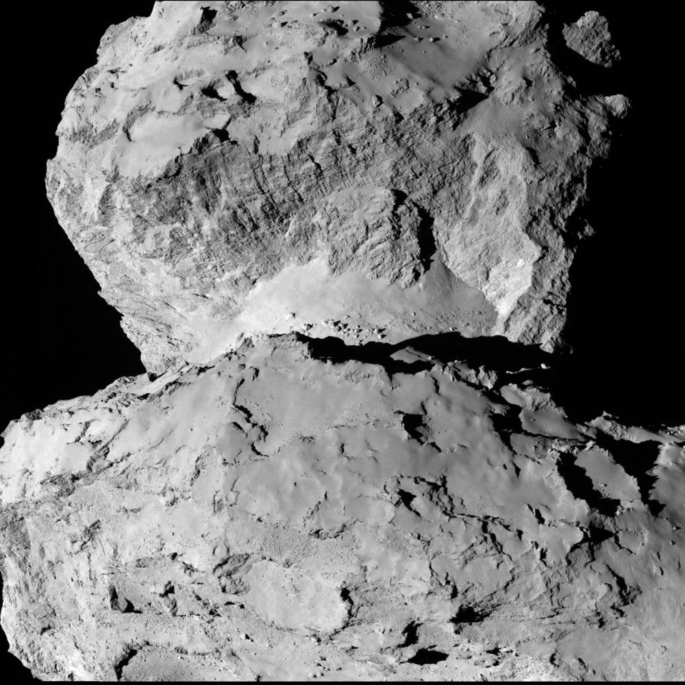 Comet on 7 August (B)