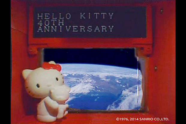 Hello Kitty Is in Space and Wants Your Messages