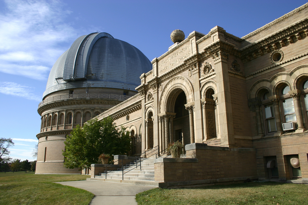 Yerkes Observatory: Home of Largest Refracting Telescope