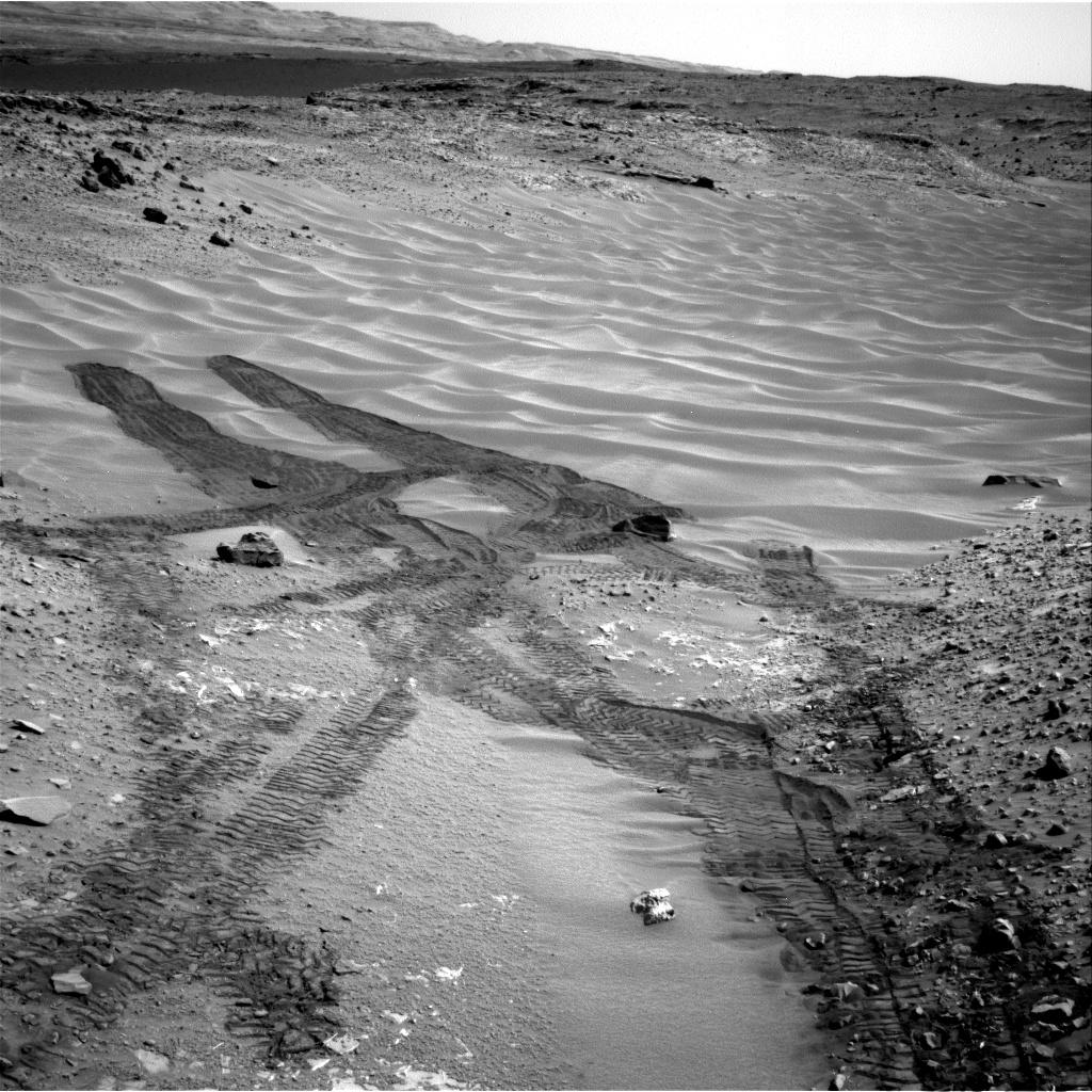Curiosity Rover on Mars Stalled by 'Hidden Valley' Sand Trap