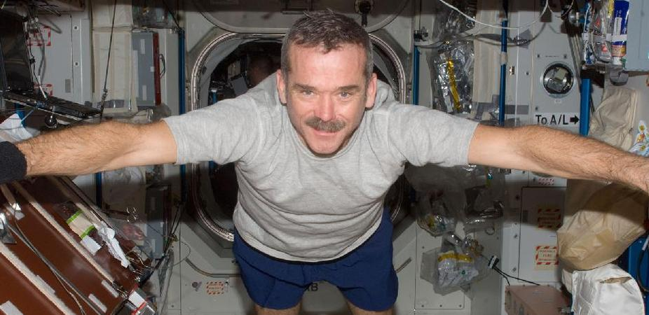 In Conversation with Astronaut Chris Hadfield