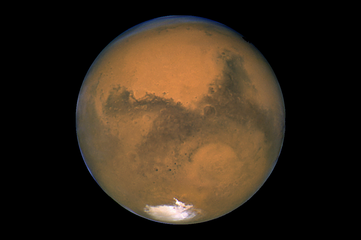 'Beam Me to Mars' Lets You Send Martian Messages to Fund Space Exploration