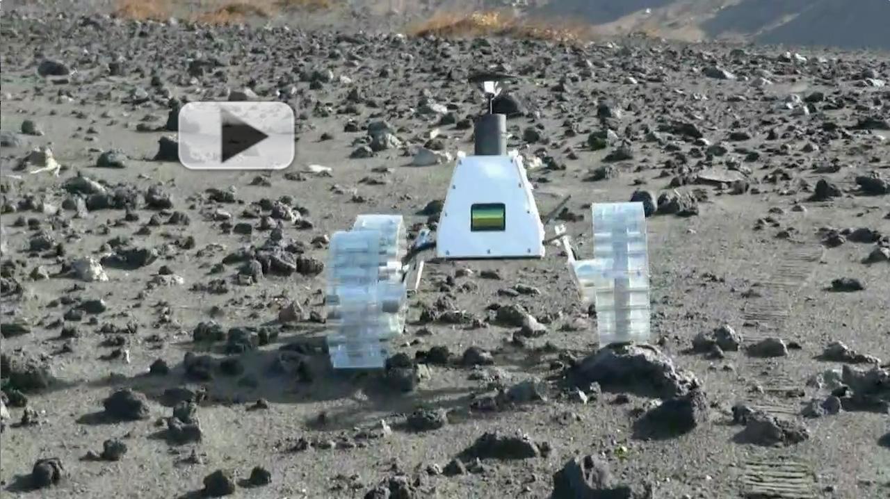 Hakuto MoonRaker Rover Tests Its Wheels   Video