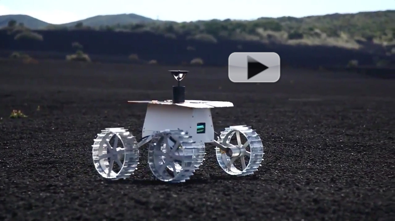 Hakuto MoonRaker Rover Could Commercialize Luna  | Video