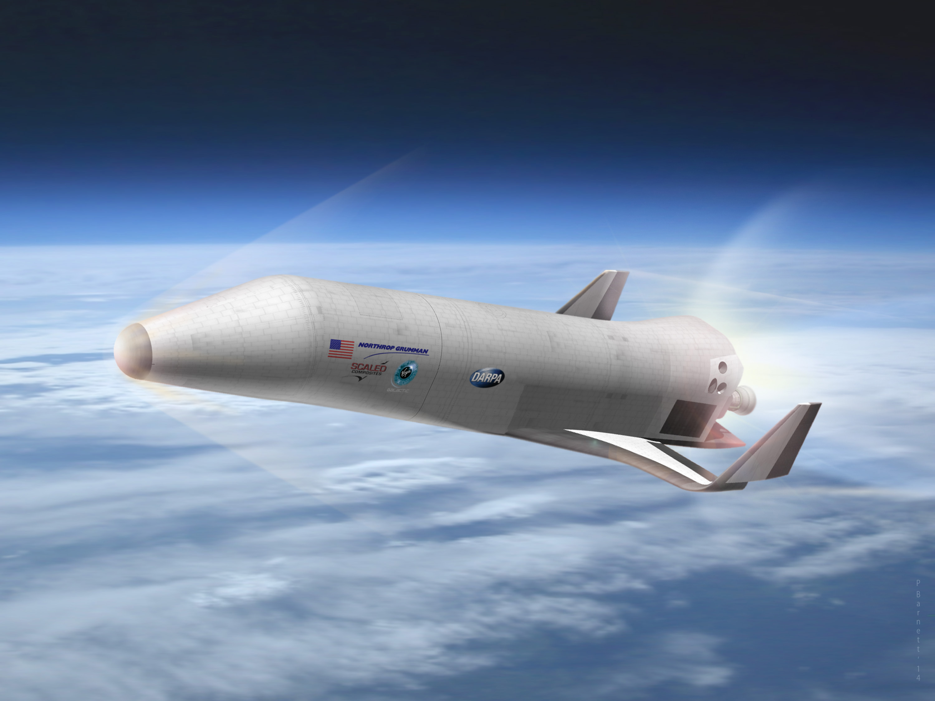 Northrop Grumman Unveils Concept for XS-1 Military Space Plane