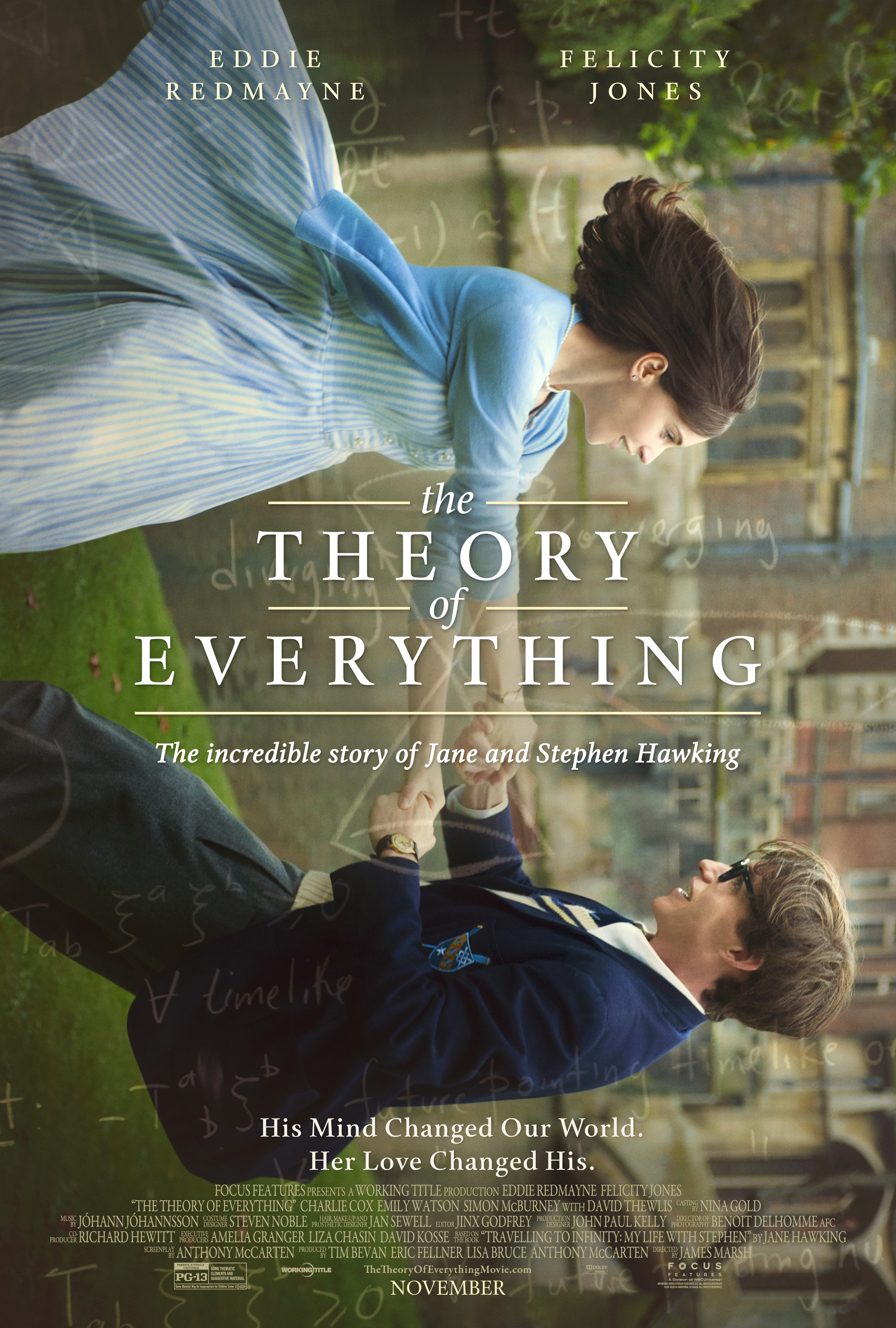 'Theory of Everything' Poster Unveiled for Stephen Hawking Biopic