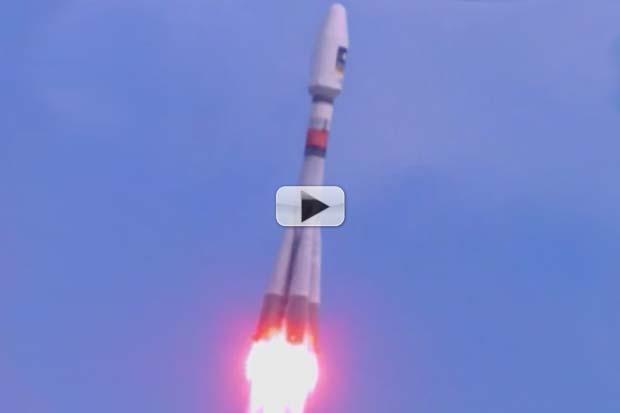 Galileo Satellites Fail To Reach Correct Orbit - Launch Video