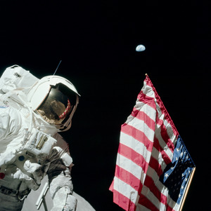 Last man to step onto the moon - Apollo 17's Jack Schmitt – one of 12 humans to make the journey.