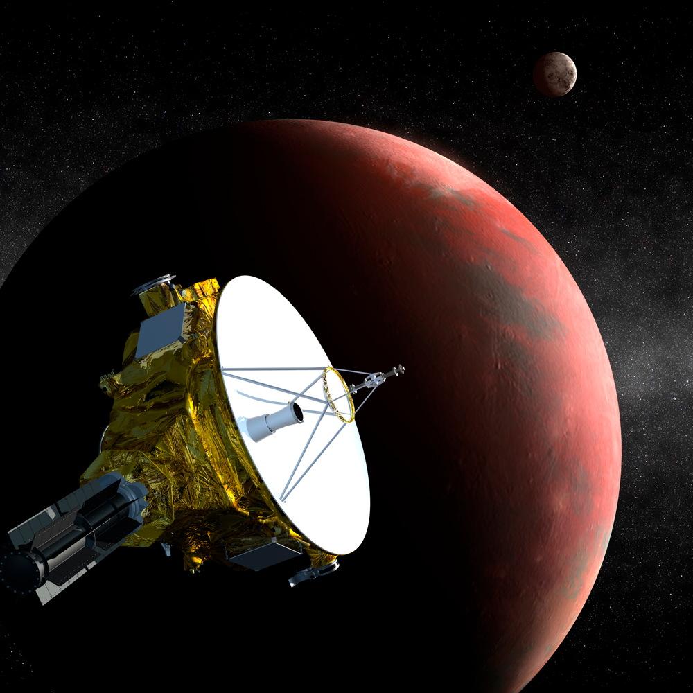 On to Pluto! NASA Spacecraft Now Beyond Neptune's Orbit (Photos)