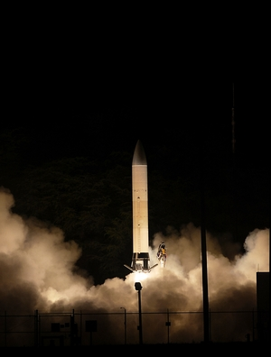 In 2011, the U.S. Army launched a successful test of the Advanced Hypersonic Weapon from the Pacific Missile Range Facility in Kauai, Hawaii. The test sent the prototype weapon 2,500 miles in 30 minutes.