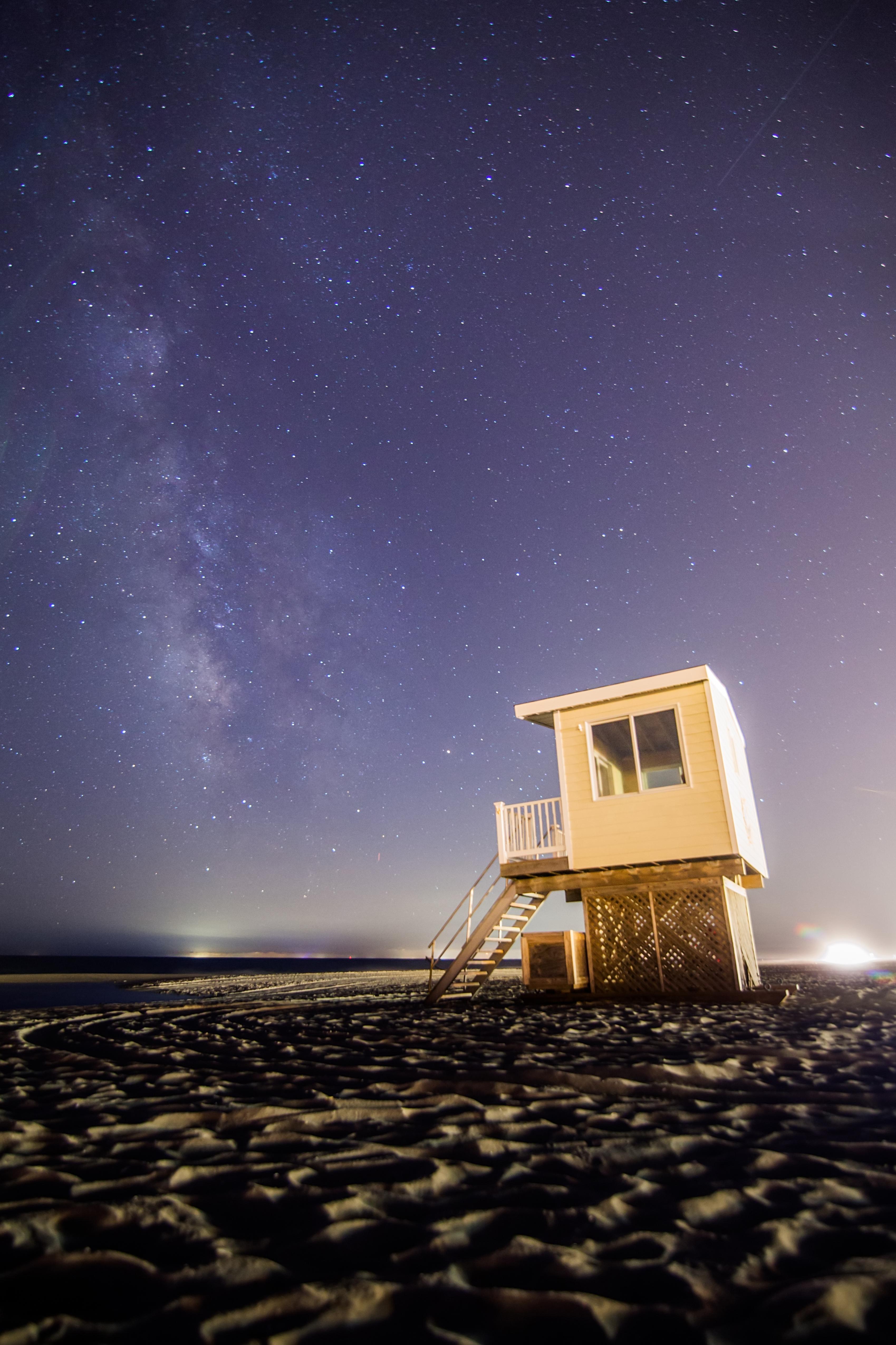Astrophotographer Captures Stunning Milky Way Above Jersey Shore