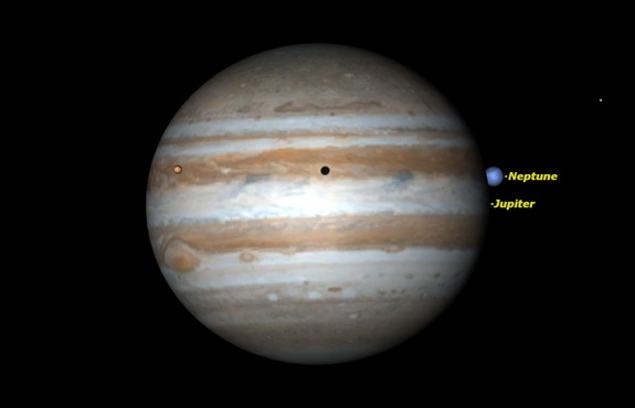 On the night of 1613 January 3/4, Jupiter actually occulted Neptune.
