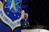 General William Shelton (retired), former commander of the Air Force Space Command, has been a leader in rallying support for future of U.S. military space capabilities, including the X-37B robotic space plane.