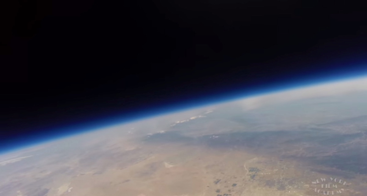Film Students Play Starring Role in Stratospheric Balloon Launch (Video)