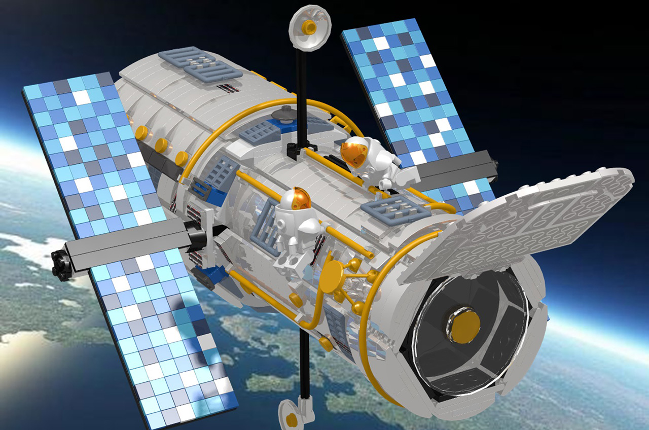 LEGO May Make Hubble Space Telescope Kit After Fans' 10,000 Votes