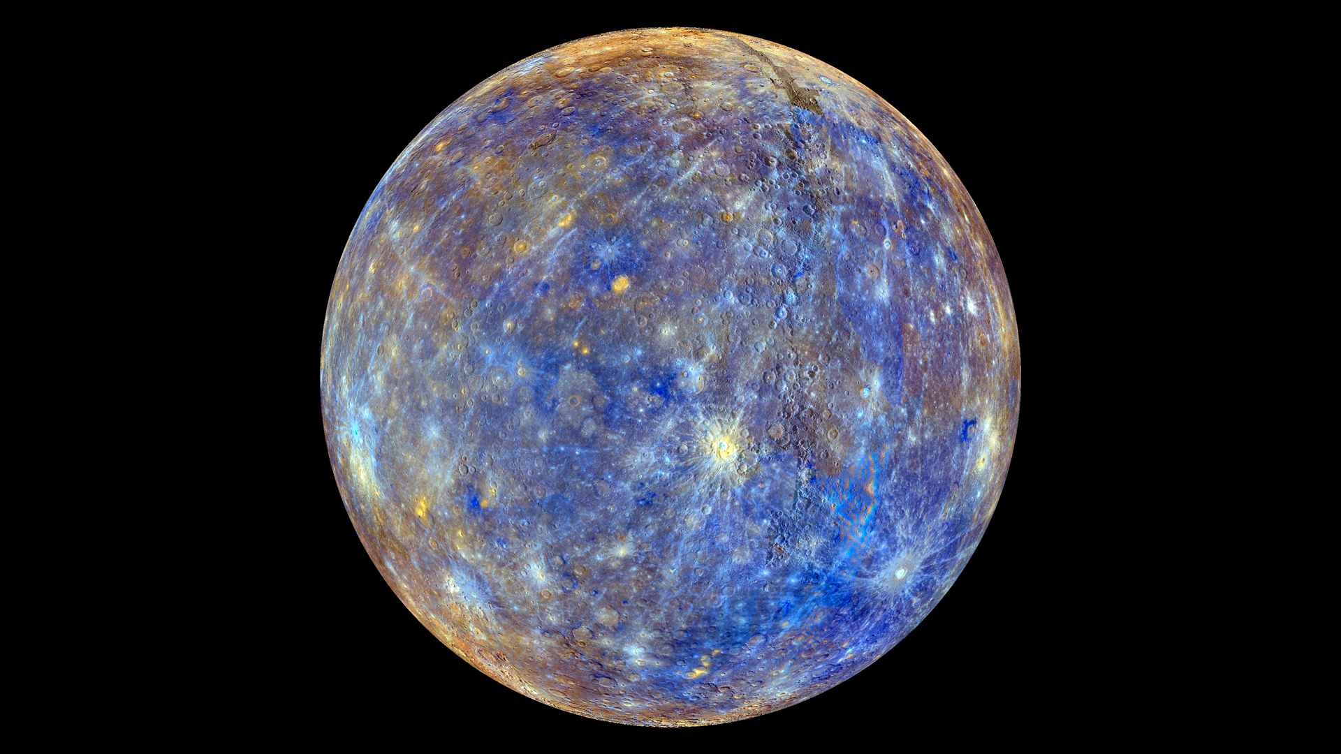 A NASA Probe Mapped Mercury's Entire Surface