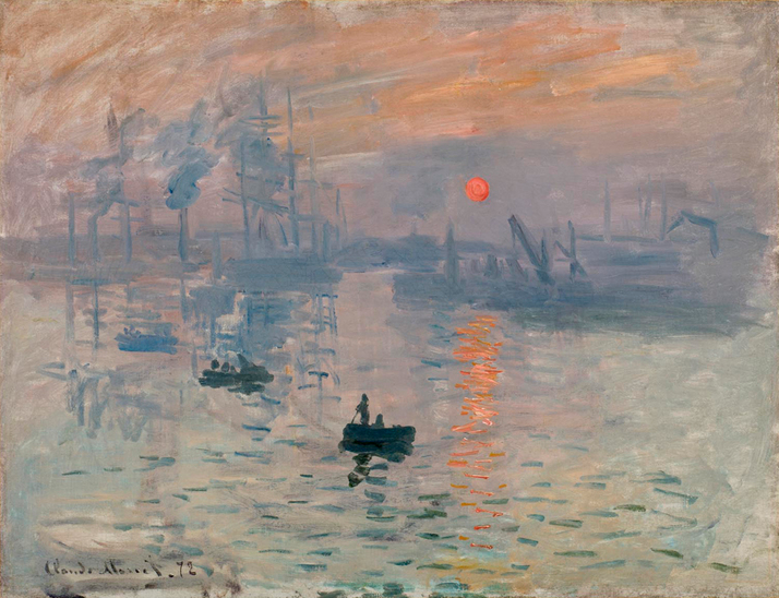 Astronomy Detectives Reveal Origin of Monet's 'Impression' Painting