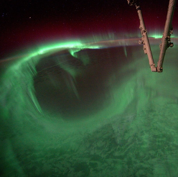 ISS Aurora View