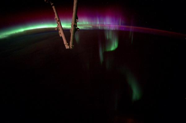 'Amazing' Aurora Seen from the International Space Station