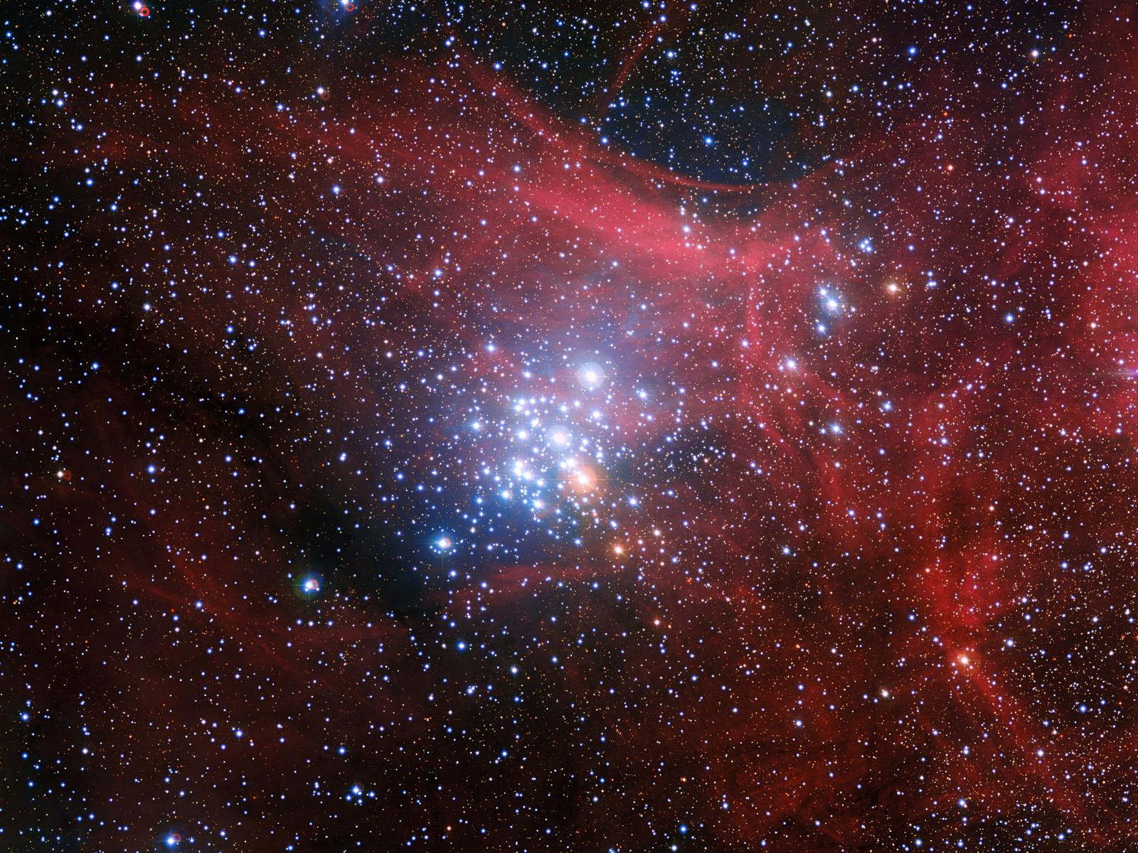 Stellar Siblings   Space Wallpaper