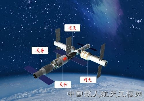 China is inviting other countries to get involved in its space station program, a 60-ton facility to be built in low-Earth orbit.