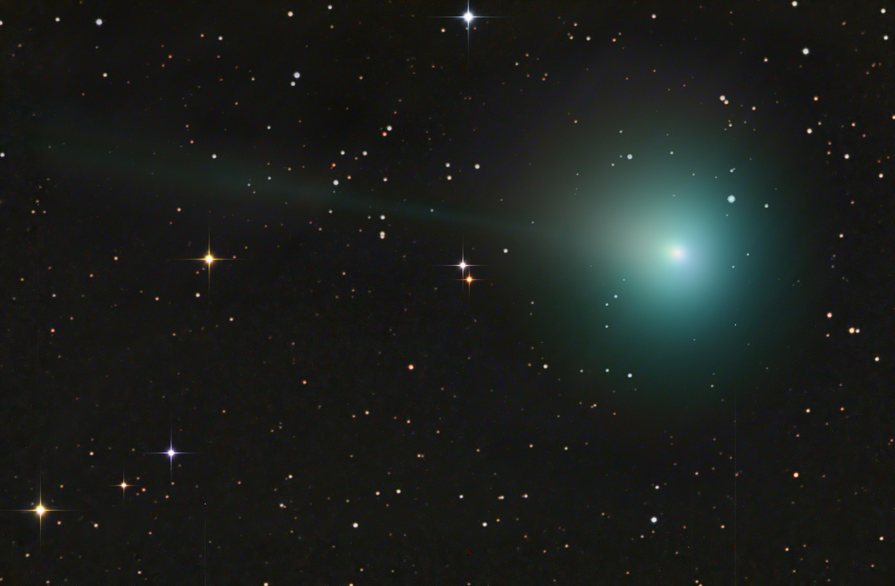 Comet Jacques on Aug. 17, 2014