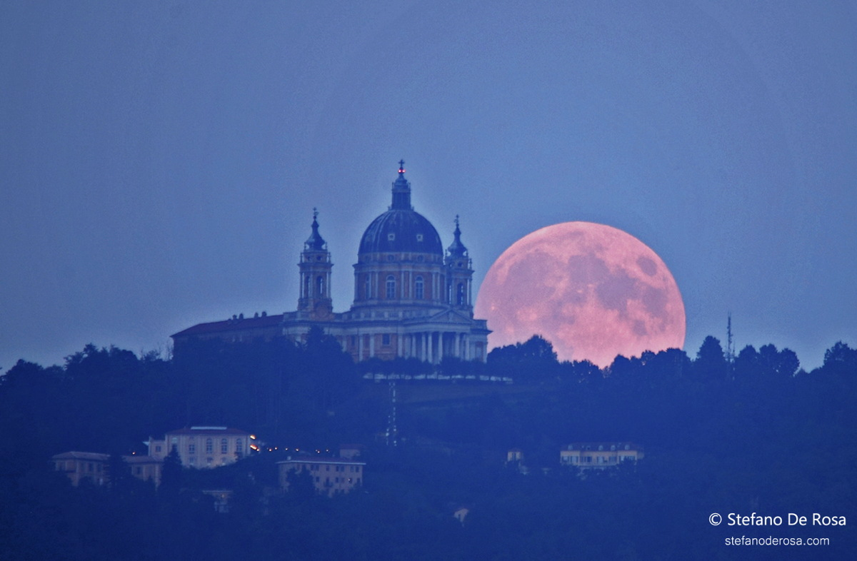 Harvest Moon Over Italy