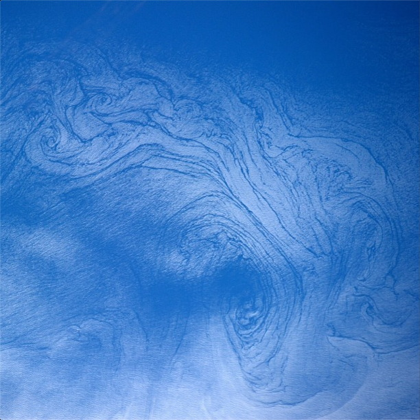 Pacific Ocean Currents in Sun Glint