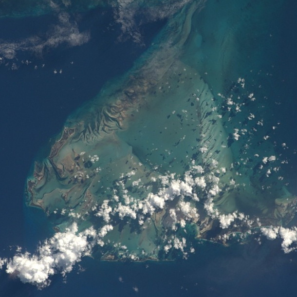 The Bahamas Seen from the ISS