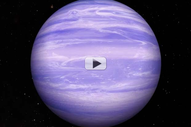 Frigid Brown Dwarf May Have Water Ice Clouds | Video