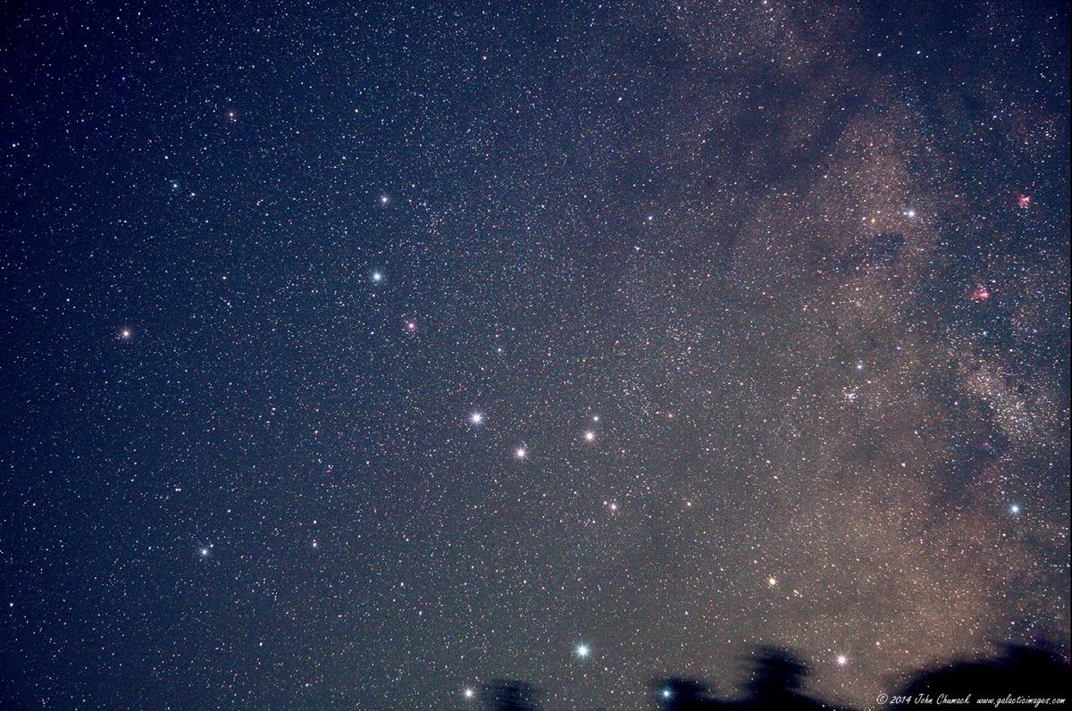 Constellation Sagittarius: Archer, Dipper or Teapot?