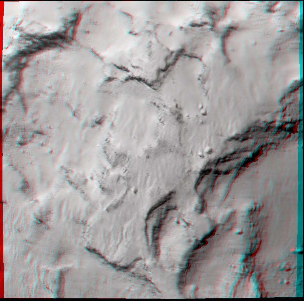 Rosetta Comet Landing Site in 3D