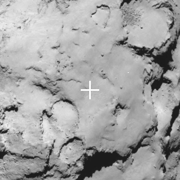 Landing Site C: Rosetta's Backup Landing Target