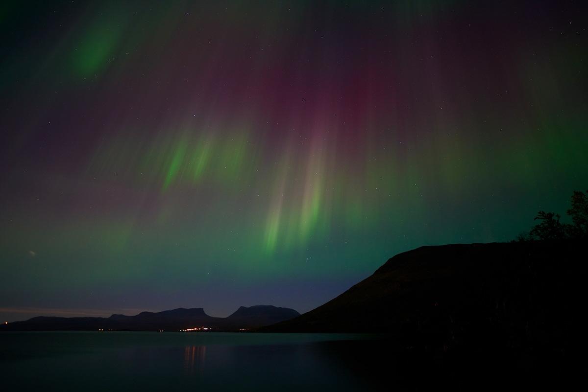 Aurora Seen Over Sweden
