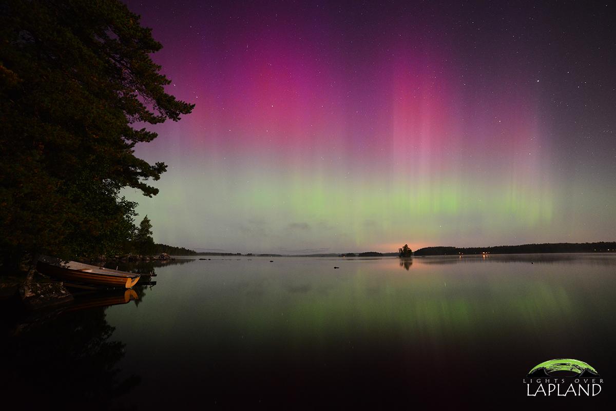 Aurora in Sweden