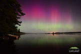 This auroral display was captured by photographer Chad Blakley over Lapland, Sweden on Sept. 12, 2014 in the wake of two intense solar storms that amplified the view.