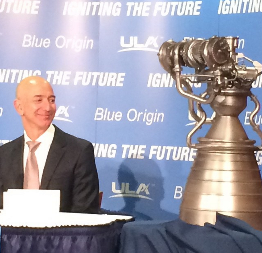 Jeff Bezos' Blue Origin to Build New Rocket Engine for US ...
