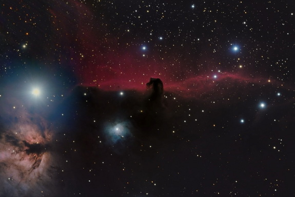 "Another photo of the Horsehead Nebula took home the prize in the ""Young Astronomy Photographer"" category. Sept. 18, 2014."