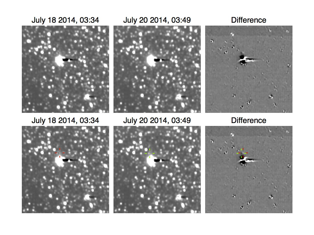 Detection of Hydra by New Horizons