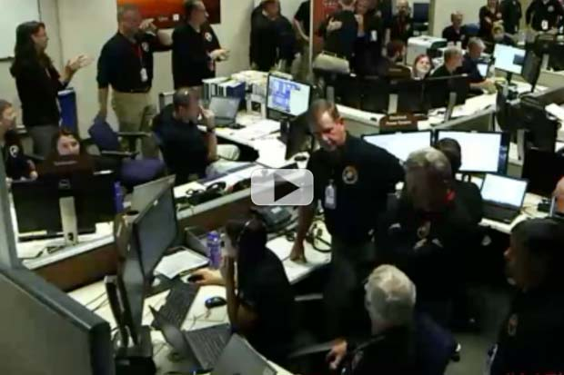 'MAVEN Is Now In Mars Orbit' - Mission Control Video