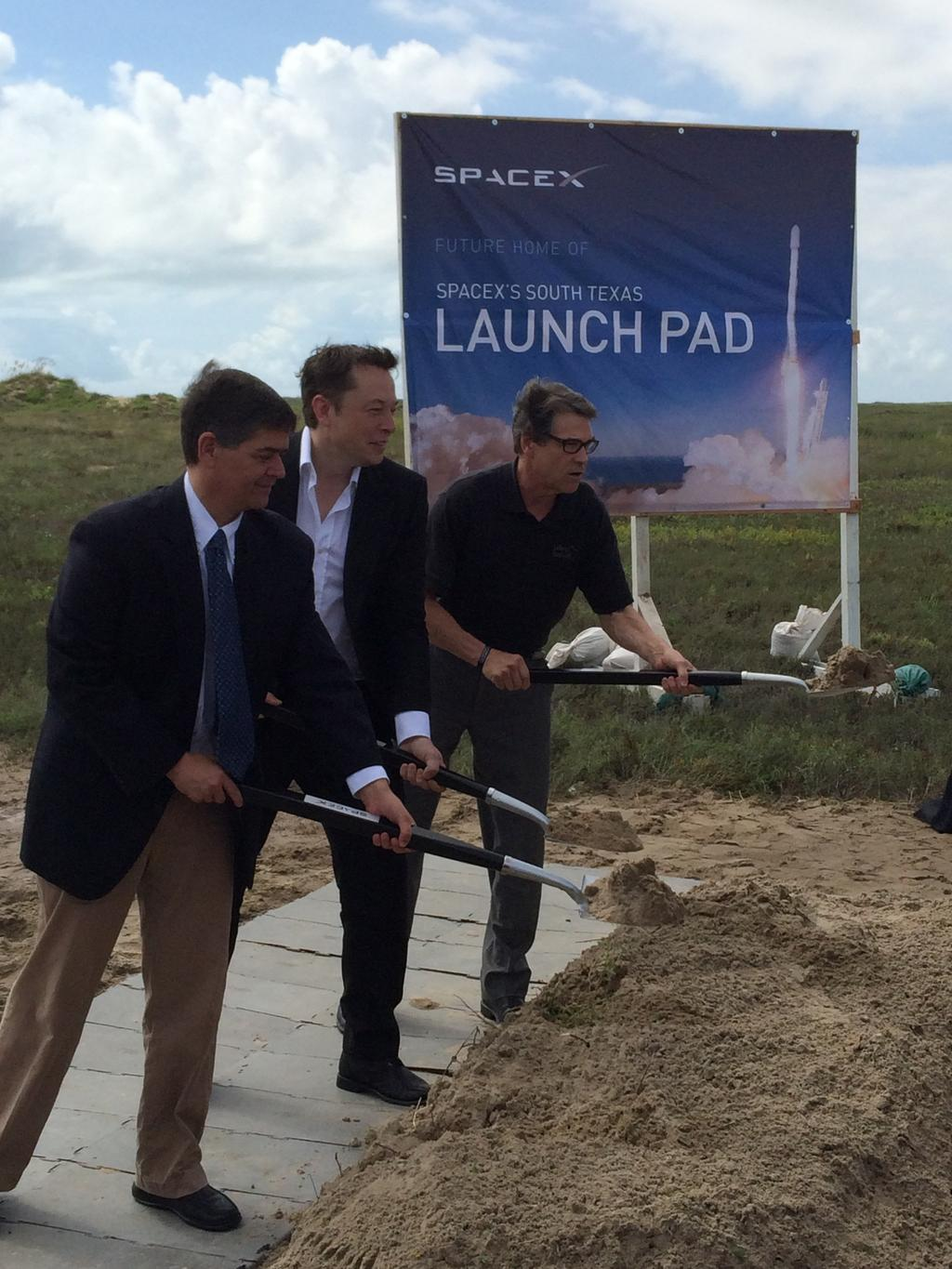 SpaceX Breaks Ground on Private Spaceport in Texas