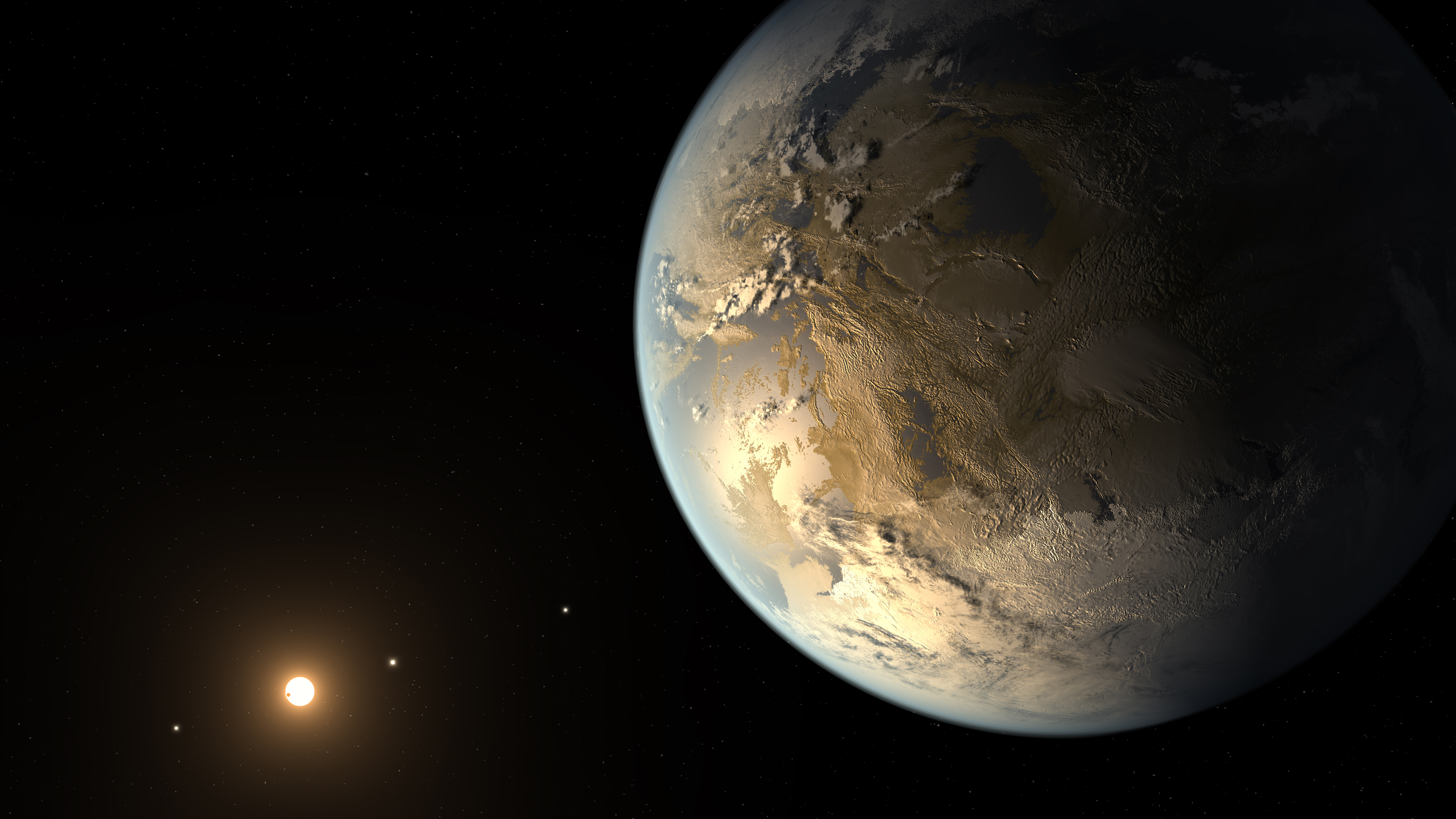 Search for Alien Life Should Target Water, Oxygen and Chlorophyll