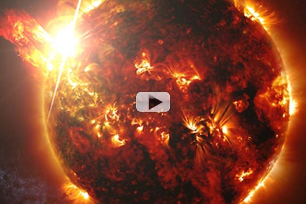 X100,000 Flare Unleashed By Nearby Red Dwarf | Video