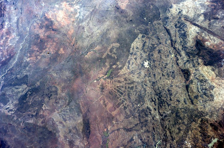 South Africa from ISS