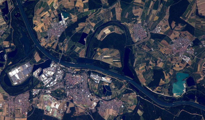 A German City From ISS