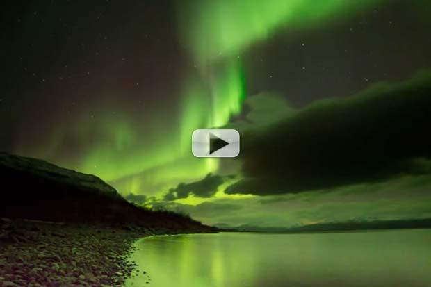 Northern Lights Shine Over Sweden | Video