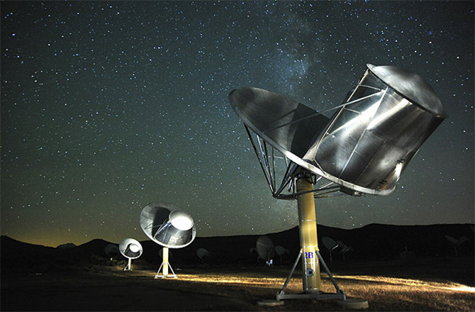 Aliens May Be Out There, But Too Distant for Contact