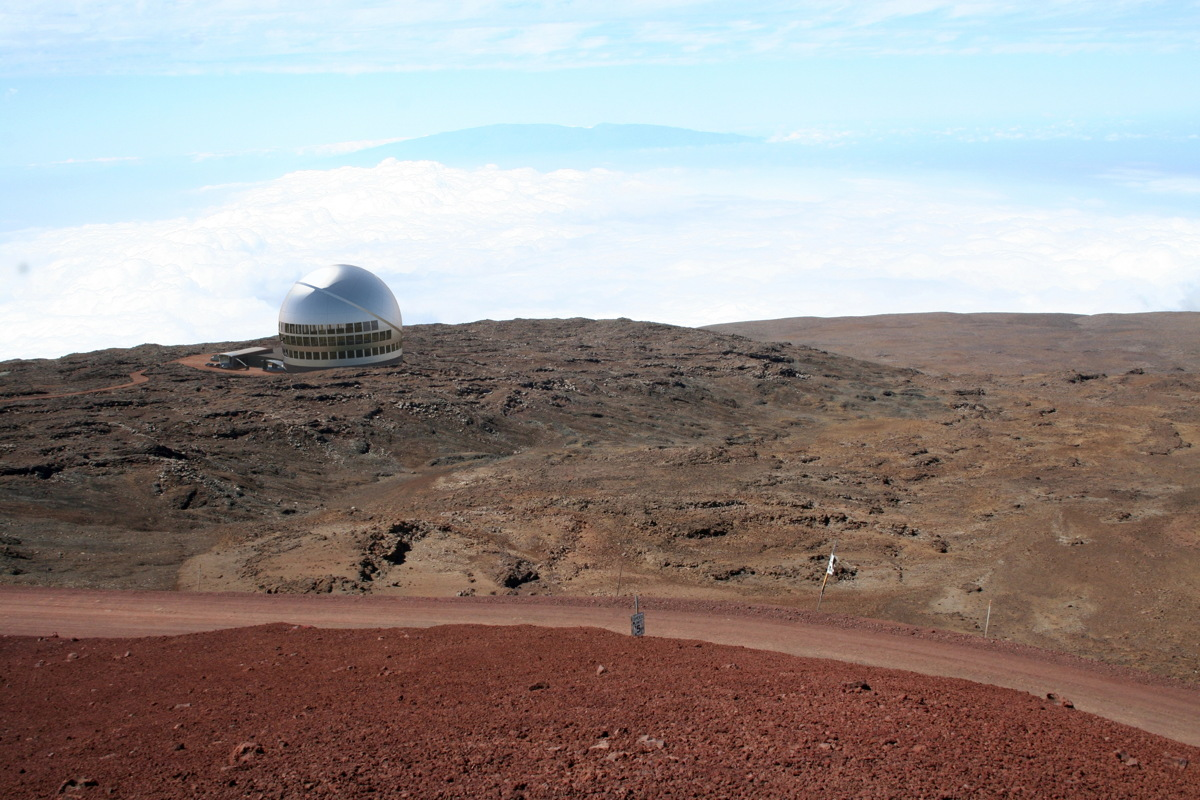 Visualization of TMT on Mauna Kea