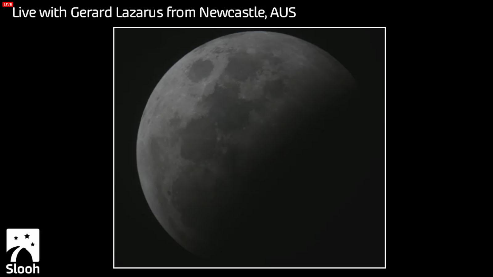 Total Lunar Eclipse of October 2014: Gerard Lazarus