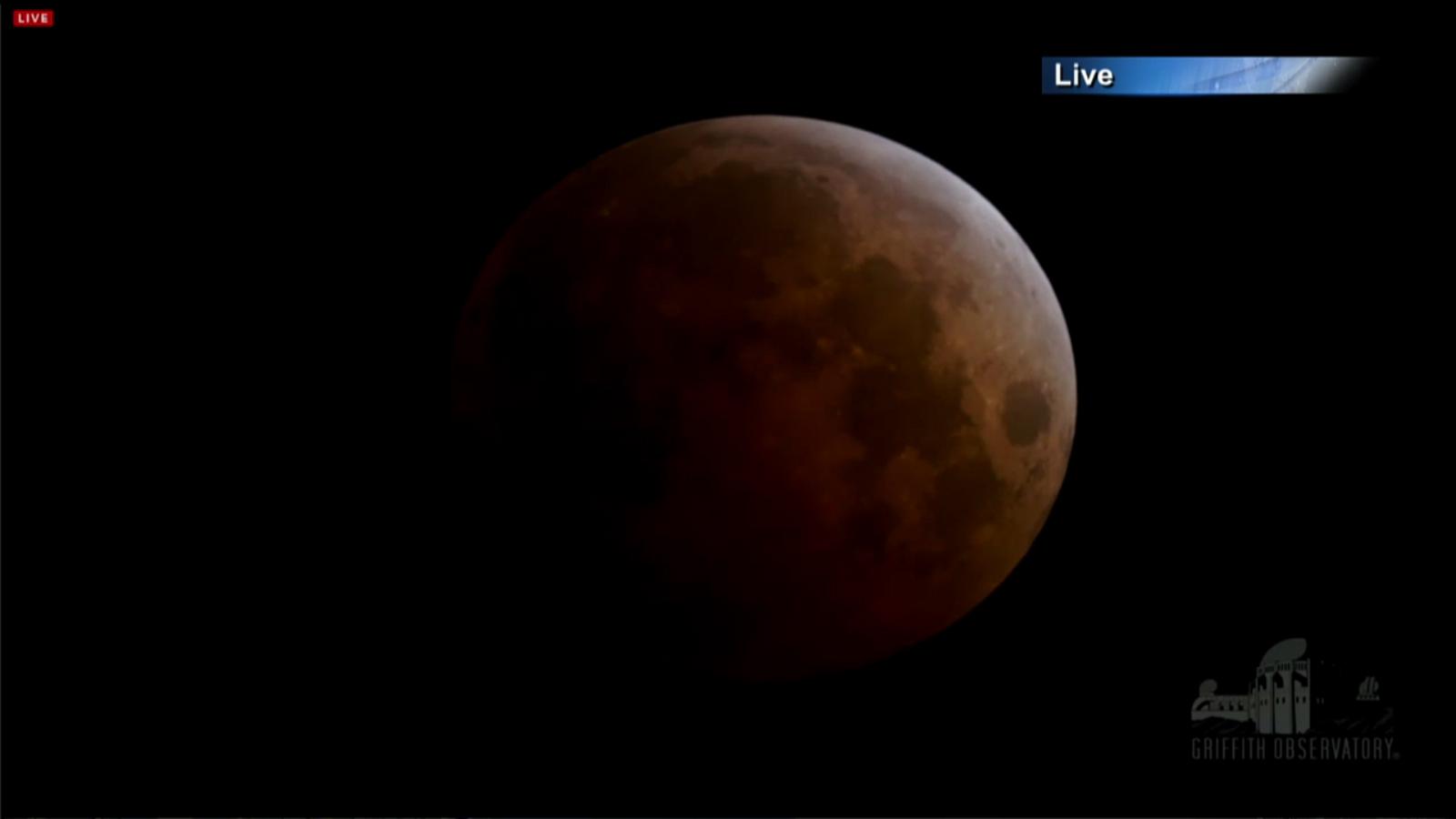 Blood Moon of October 2014 Lunar Eclipse